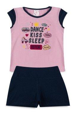 Conjunto Infantil Menina Cotton Dance Kids