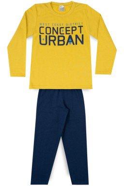 Conjunto Infantil Menino Moletom Concept Urban