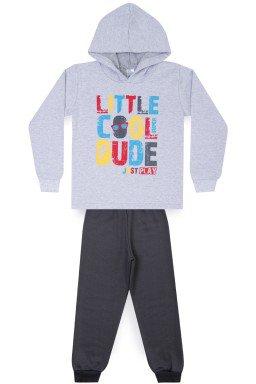 Conjunto Infantil Menino de Moletom Little Cool