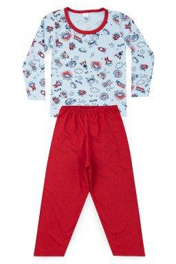 Pijama Infantil Menino Meia Malha Space