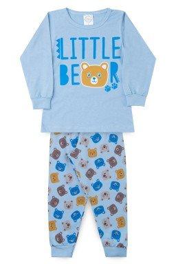 Pijama Infantil Menino Meia Malha Bear